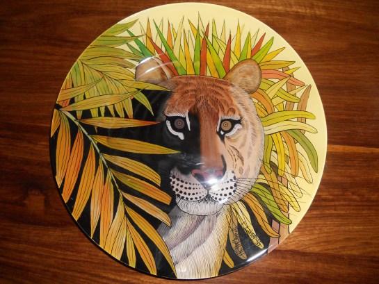 lion caché
